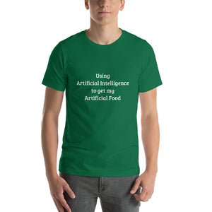 Punday Brunch - Artificial Food Short-Sleeve Unisex T-Shirt - The Comfort Crusade Shopping Lounge