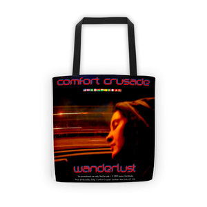 "Comfort Crusade ""Wanderlust"" Tote Bag by Jenna Mabry - The Comfort Crusade Shopping Lounge"