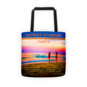 Comfort Crusade Miami Tote bag by @ClauNine - The Comfort Crusade Shopping Lounge