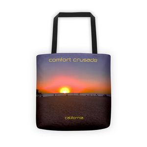 Comfort Crusade California Tote Bag - The Comfort Crusade Shopping Lounge