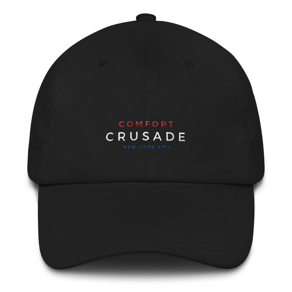 Comfort Crusade by Greg Graham Classic Curve Cap - NYC - The Comfort Crusade Shopping Lounge