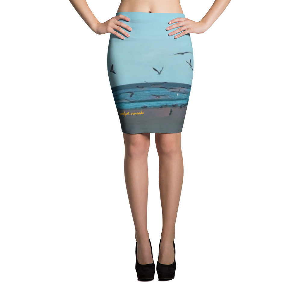 Comfort Crusade Pompano Pencil Skirt - The Comfort Crusade Shopping Lounge