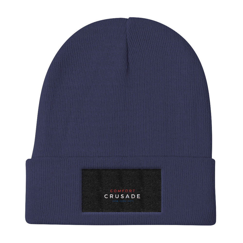 Comfort Crusade by Greg Graham Plush Knit Beanie - The Comfort Crusade Shopping Lounge