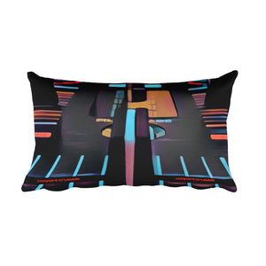 Comfort Crusade In The Mix Rectangular Pillow - The Comfort Crusade Shopping Lounge