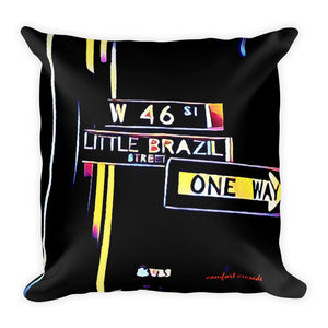 Comfort Crusade Little Brazil Throw Pillow - The Comfort Crusade Shopping Lounge