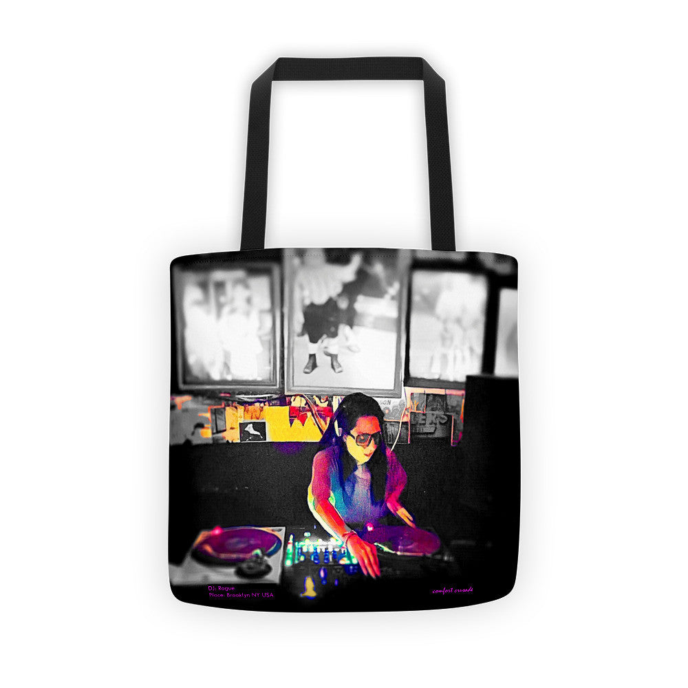 DJ Rogue: Celebrating Our Women Series Tote bag - The Comfort Crusade Shopping Lounge
