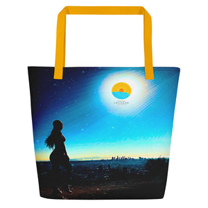 Comfort Crusade California Beach Bag by Mabel Lebam - The Comfort Crusade Shopping Lounge