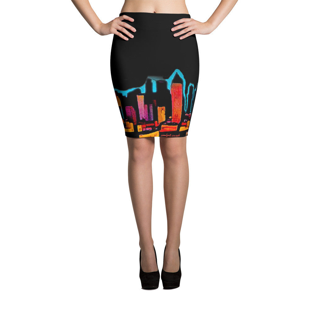 Comfort Crusade Rooftopper Pencil Skirt - The Comfort Crusade Shopping Lounge