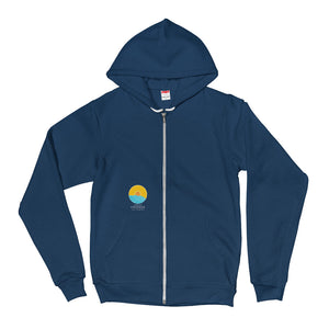 Unisex Fab Fleece Hoodie by Comfort Crusade - The Comfort Crusade Shopping Lounge