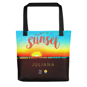 Sunset by Juliana Limited Edition LA Tote Bag - The Comfort Crusade Shopping Lounge