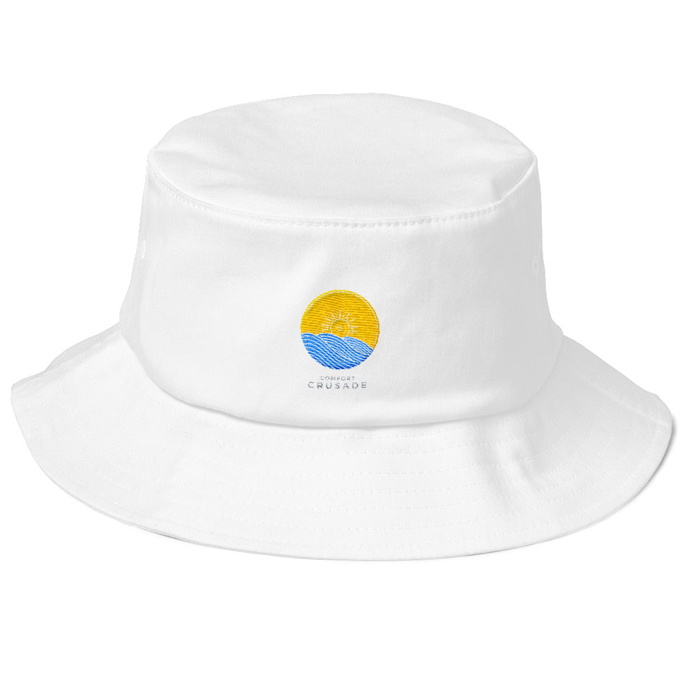 Comfort Crusade Old School Bucket Hat - The Comfort Crusade Shopping Lounge