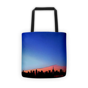 Comfort Crusade City Sunrise Tote Bag - The Comfort Crusade Shopping Lounge