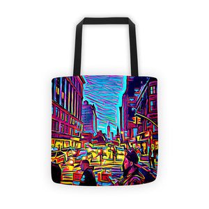 Comfort Crusade City Life Tote bag - The Comfort Crusade Shopping Lounge