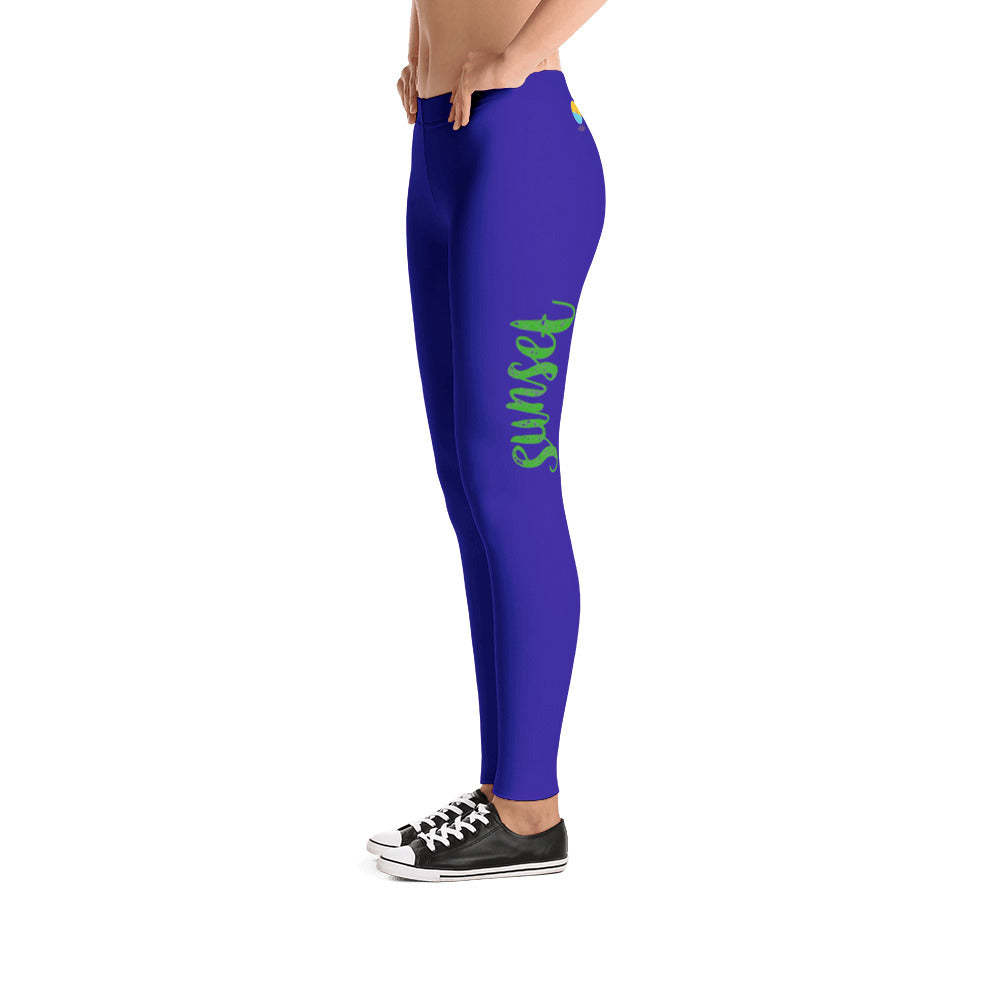 Morena by Juliana Blue Leggings - The Comfort Crusade Shopping Lounge