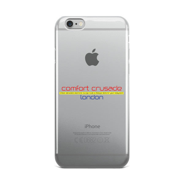 Comfort Crusade London iPhone case - The Comfort Crusade Shopping Lounge