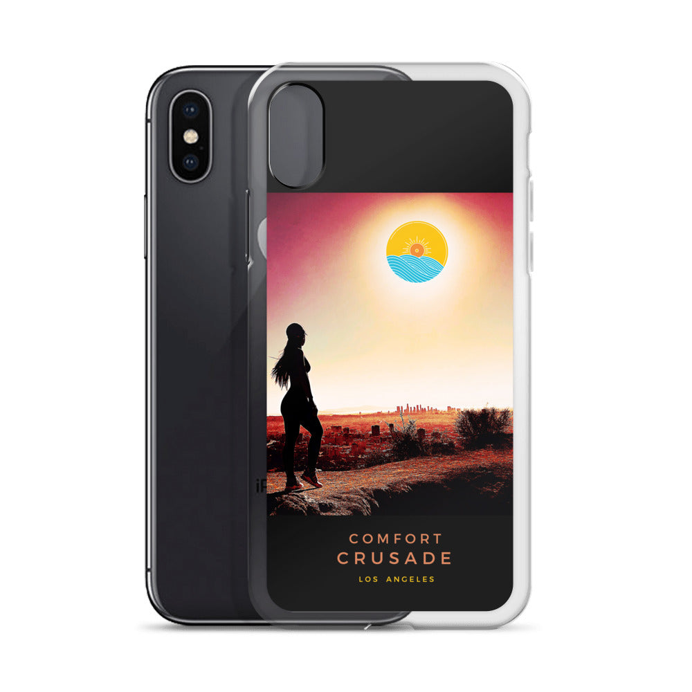 Comfort Crusade The Burbs Of LA Fly Phone Case - The Comfort Crusade Shopping Lounge