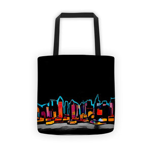 Comfort Crusade Planet NY Tote bag - The Comfort Crusade Shopping Lounge