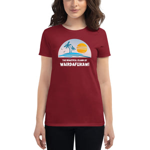 Punday Brunch - Wairdafukawi Island Goddess Tee - The Comfort Crusade Shopping Lounge
