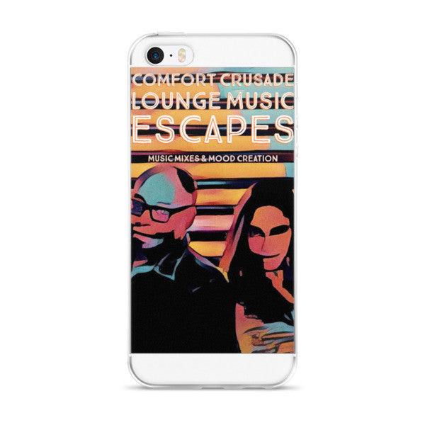 Comfort Crusade Escape iPhone case - The Comfort Crusade Shopping Lounge