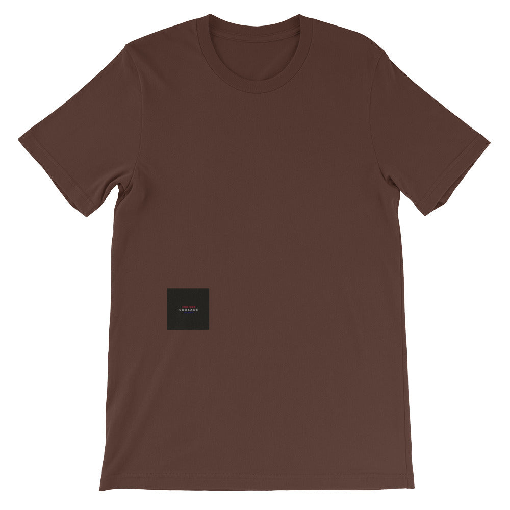 Comfort Crusade by Greg Graham Short-Sleeve Unisex T-Shirt - The Comfort Crusade Shopping Lounge