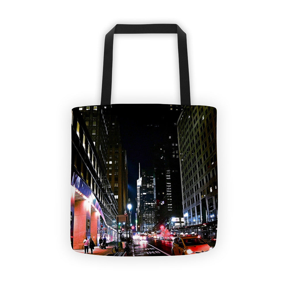 Comfort Crusade Nighttime Stroll Tote Bag - The Comfort Crusade Shopping Lounge