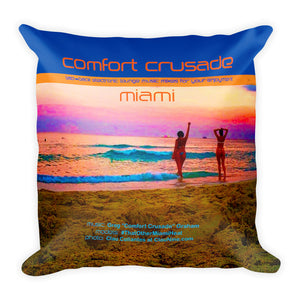 Comfort Crusade Super Comfy Miami Lounge Chillow by @ClauNine - The Comfort Crusade Shopping Lounge