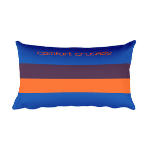 Comfort Crusade Evening Stripes Rectangular Pillow - The Comfort Crusade Shopping Lounge