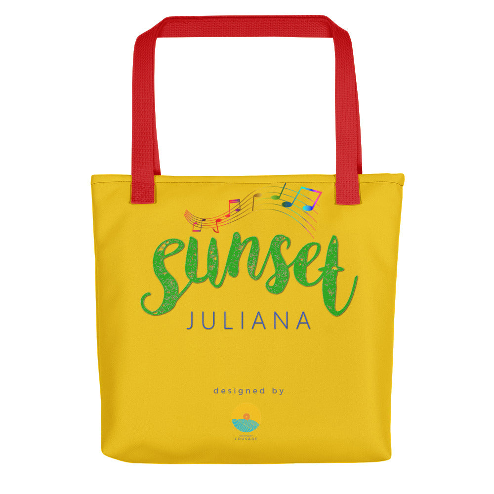 Sunset by Juliana Passion Fruit Tote Bag - The Comfort Crusade Shopping Lounge