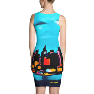 Comfort Crusade Blue New York Chill Dress - The Comfort Crusade Shopping Lounge