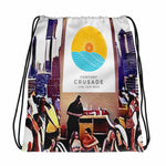 Comfort Crusade Rooftop Drawstring bag - The Comfort Crusade Shopping Lounge
