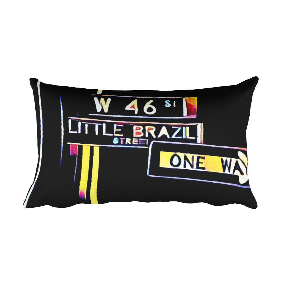 Comfort Crusade Little Brazil Rectangular Pillow - The Comfort Crusade Shopping Lounge
