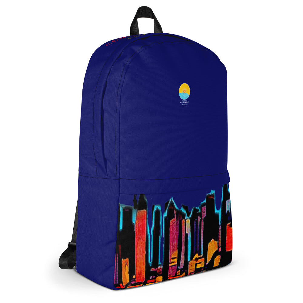 Comfort Crusade Twilight Sky NY Utility Backpack - The Comfort Crusade Shopping Lounge