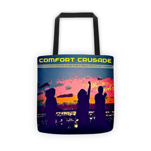 Comfort Crusade Rooftop Series Original Tote bag - The Comfort Crusade Shopping Lounge