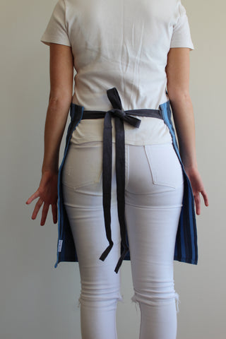 Child Blue Stripe Apron