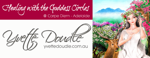 Yvette Doudle Healing with the Goddess Circles