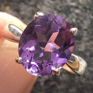 Ring Gigi Amethyst Size 6 | Carpe Diem with Remi
