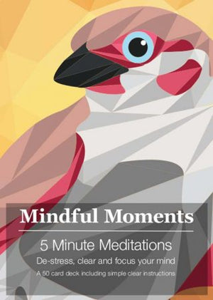 Mindful Moments | Deck | 5 Minute Meditations | Carpe Diem with Remi