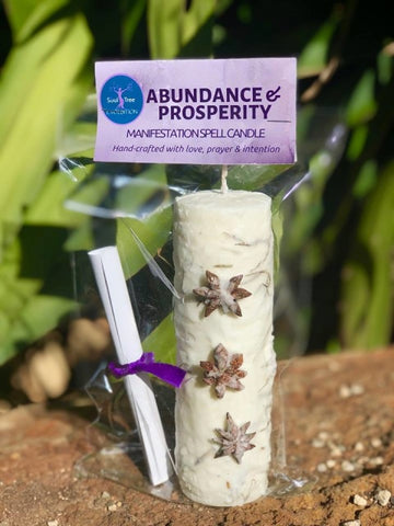 Candle | Abundance and Prosperity | Carpe Diem with Remi