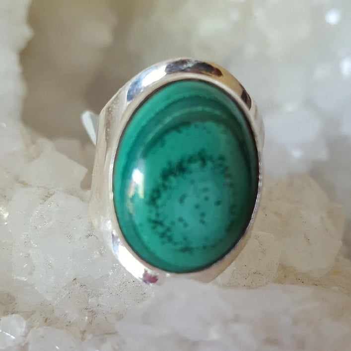 Ring Malachite Size 9 | Carpe Diem With Remi