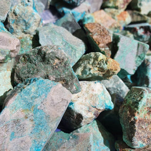 Chrysocolla Raw Chunks From | Carpe Diem with Remi