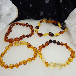 Amber Baby Bracelet Assorted | Carpe Diem with Remi