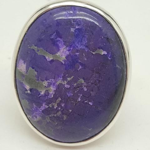 Ring | Sugilite | AAA Quality | Size 9 | Carpe Diem with Remi