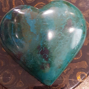 Chrysocolla | Heart | Large |  Carpe Diem with Remi