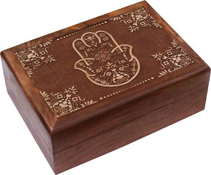 Box Wooden Blessing Hand | Carpe Diem With Remi