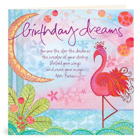 Birthday Dreams Card | Carpe Diem With Remi