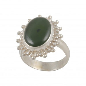 Ring Nephrite Jade Size 10.5 | Carpe Diem with Remi
