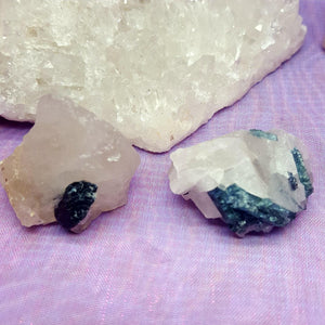 Blue Tourmaline in Quartz | Carpe Diem with Remi