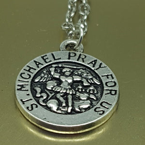 Pendant | St Michael | Pewter | Charm | Carpe Diem with Remi
