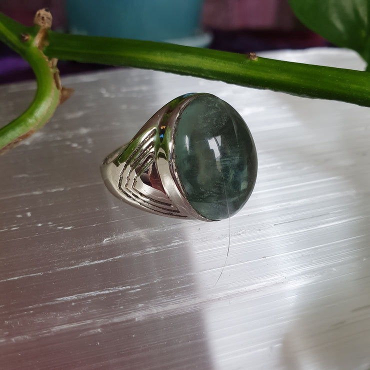 Ring Fluorite Size 10 | Carpe Diem with Remi