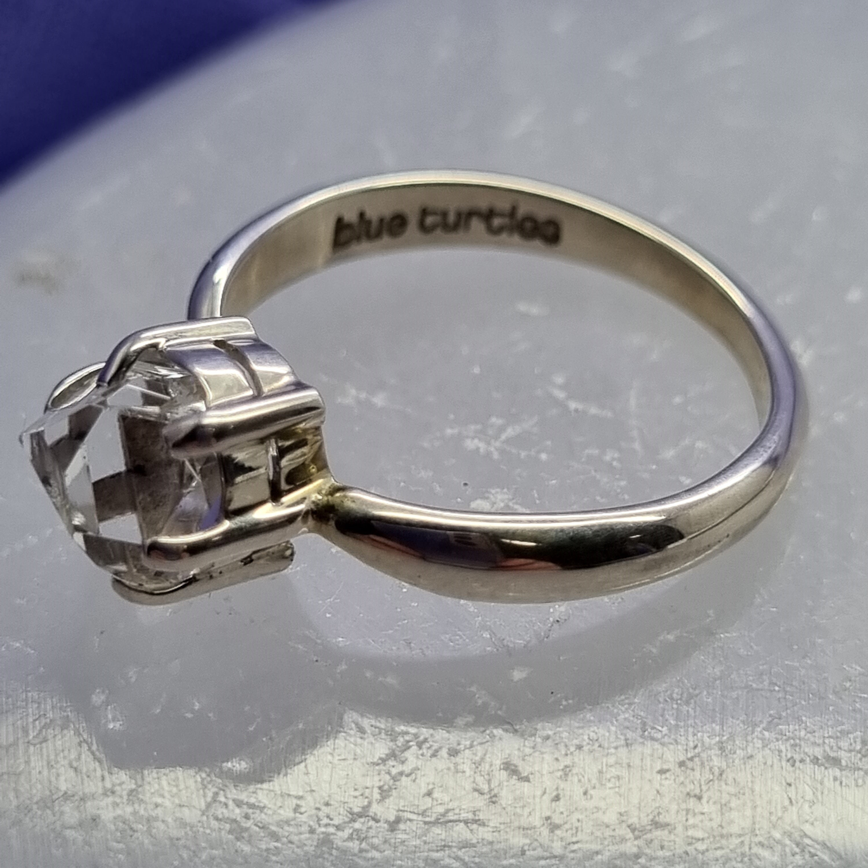 Ring Herkimer Diamond Size 8 | Carpe Diem with Remi